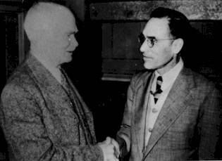 Donato 1 (right) with the director of Austin State Hospital (late 1930s?)